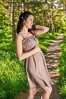 Ночная рубашка для беременных и кормящих мам