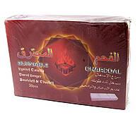 Уголь для кальянов (12,5х9х3 см) (30 пластин)