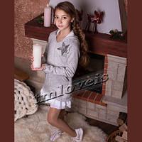 Зимнее платье для девочки подростка Star