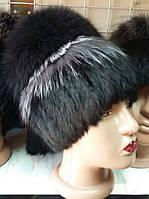 Меховая шапка из песца,кролика и чернобурки, фото 1
