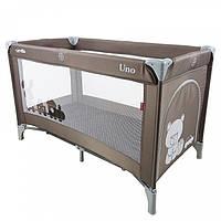 Детский манеж TILLY CARRELLO UNO CRL-7304 BROWN. Гарантия качества. Быстрая доставка.