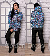 Женский стильный теплый костюм VERSACE (42-54 р) 5П1087