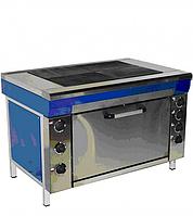 Плита електрическая кухонная с жарочным шкафом и без