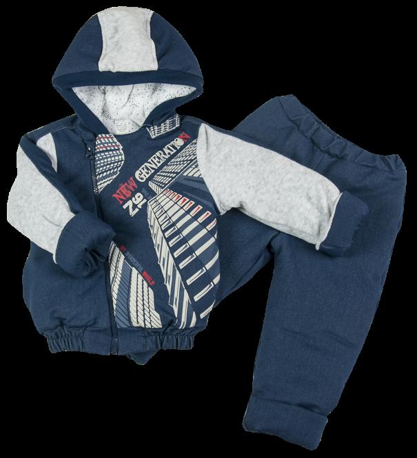 Комплект из джинса на синтепоне для мальчика