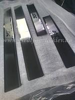 Защита порогов - накладки на пороги Peugeot 307 5-дверка с 2001-2008 гг. (Premium)
