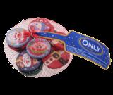 Шоколад молочный Рождественские  Монетки Only  Австрия 85г
