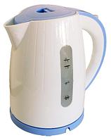 Электрочайник Grunhelm EKP-1799AE, голубой (2,2 кВт, объём 1,7 л)