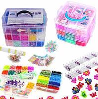 Набор резинок для плетения браслетов ХХХL 21000 единиц + КЕЙС!