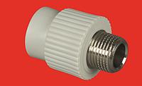 Муфта 20х1/2 с наружной металлической резьбой FV-PLAST