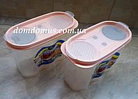 Контейнер для хранения сыпучих продуктов 1,2 л Irak Plastik, Турция