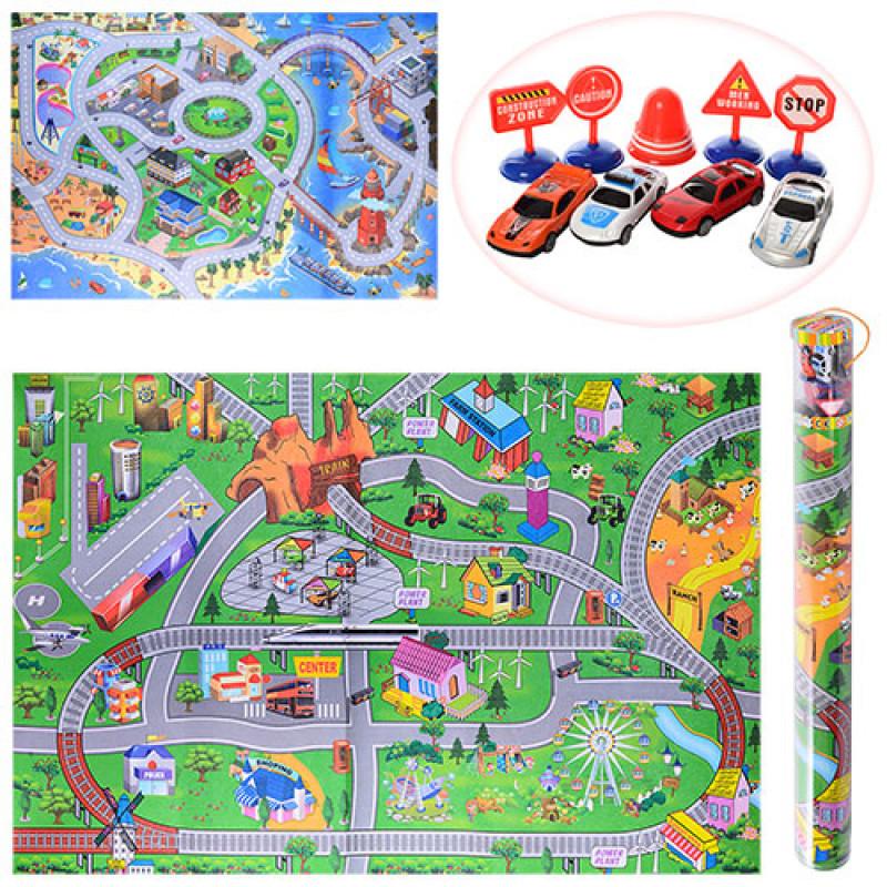 Игра коврик дорога Правила дорожного движения 019A-23P-25P