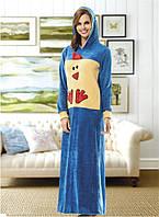 Платье домашнее 25430 велсофт Angel Story