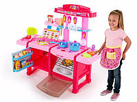 Детская кухня с холодильником многофункциональная MJL-703