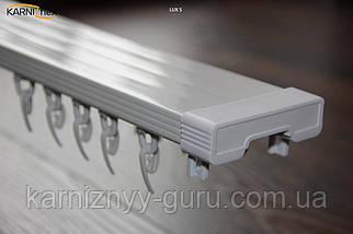 Карниз потолочный двух рядный Lux S