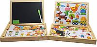 Детская образовательная таблица, магниты, мел, рисование маркером!