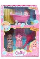 Набор кукла Cally с ванной С002