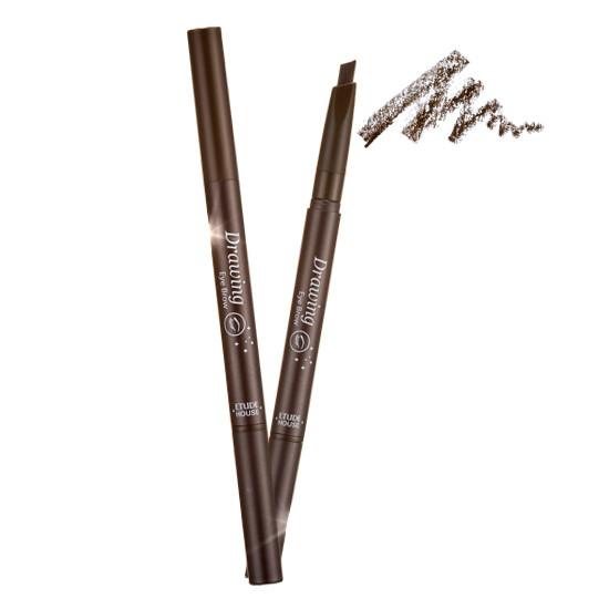 Карандаш для бровей с щеточкой Etude House Drawing Eye Brow - 02 Gray Brown