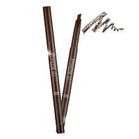Карандаш для бровей с щеточкой Etude House Drawing Eye Brow - 01 Dark Brown