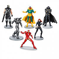 Disney Игровой набор фигурки супергерои Мстители Marvel Avengers Exclusive 6-Piece
