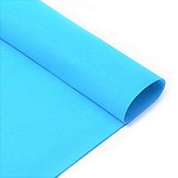 Фоамиран Голубой Эва 2 мм 50х50 см