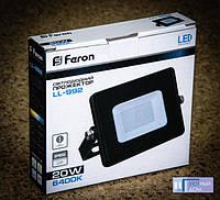 Светодиодный прожектор Feron LL-992 20W 6400K, фото 1