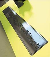 Линейный трап с гидрозатвором 60 см WINKIEL Fino с декоративной решеткой PERLE