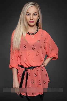 Блуза женская модель №431-4, размеры 42-44,46-48, фото 2
