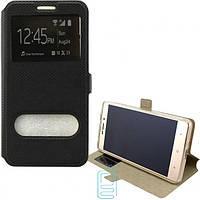 Чехол-книжка Modern с окном HTC One M10 Черный