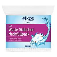 Ватные палочки  Elkos Watte-Stabchen 160 шт