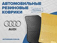 Резиновые автоковры на AUDI A7 10-