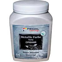 Эмаль Feidal Metallic Effect Серебро 800 мл