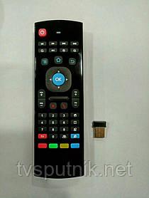 Пульт аэромышь з клавіатурою MX3 (2.4 GHz Wireless keyboard)