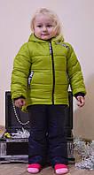 "Зимняя куртка на девочку ""Вероника"" (Размер 98)"