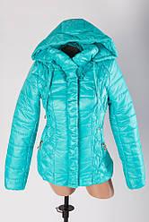 Демисезонная куртка молодежная прямая Замочек от производителя