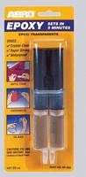 Клей эпоксидный прозрачный в шприце ABRO EP—300 25мл