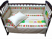 Постельный комплект в кроватку Лето ТМ