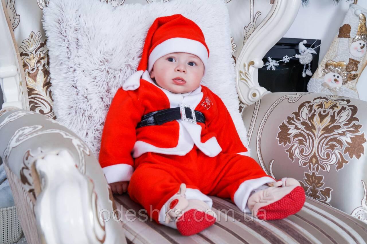 Новогодний костюм Санты для мальчика: продажа, цена в ... - photo#37