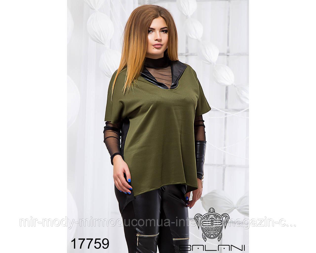 Стильный костюм тройка - 17759 (б-ни)