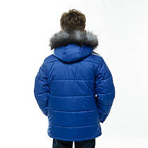 """Детская зимняя  куртка """"Леон"""" для мальчика,, фото 2"""