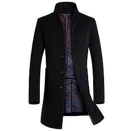 Мужское пальто. Натуральная шерсть. Модель 803