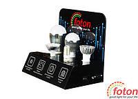 """Выставочный стенд для светодиодных ламп """"Foton"""" mini"""