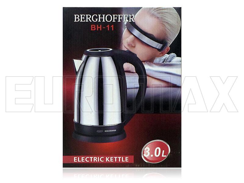 Электрочайник нерж. 3,0л 1800Вт Berghoffer BH-11