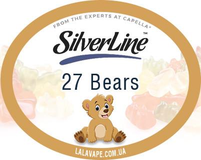 Ароматизатор SilverLine Capella 27 Bears (Мишки)