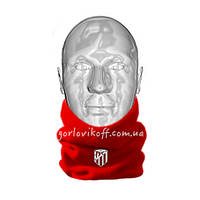 Горловик шапка / Горловик для футбола Атлетико Мадрид