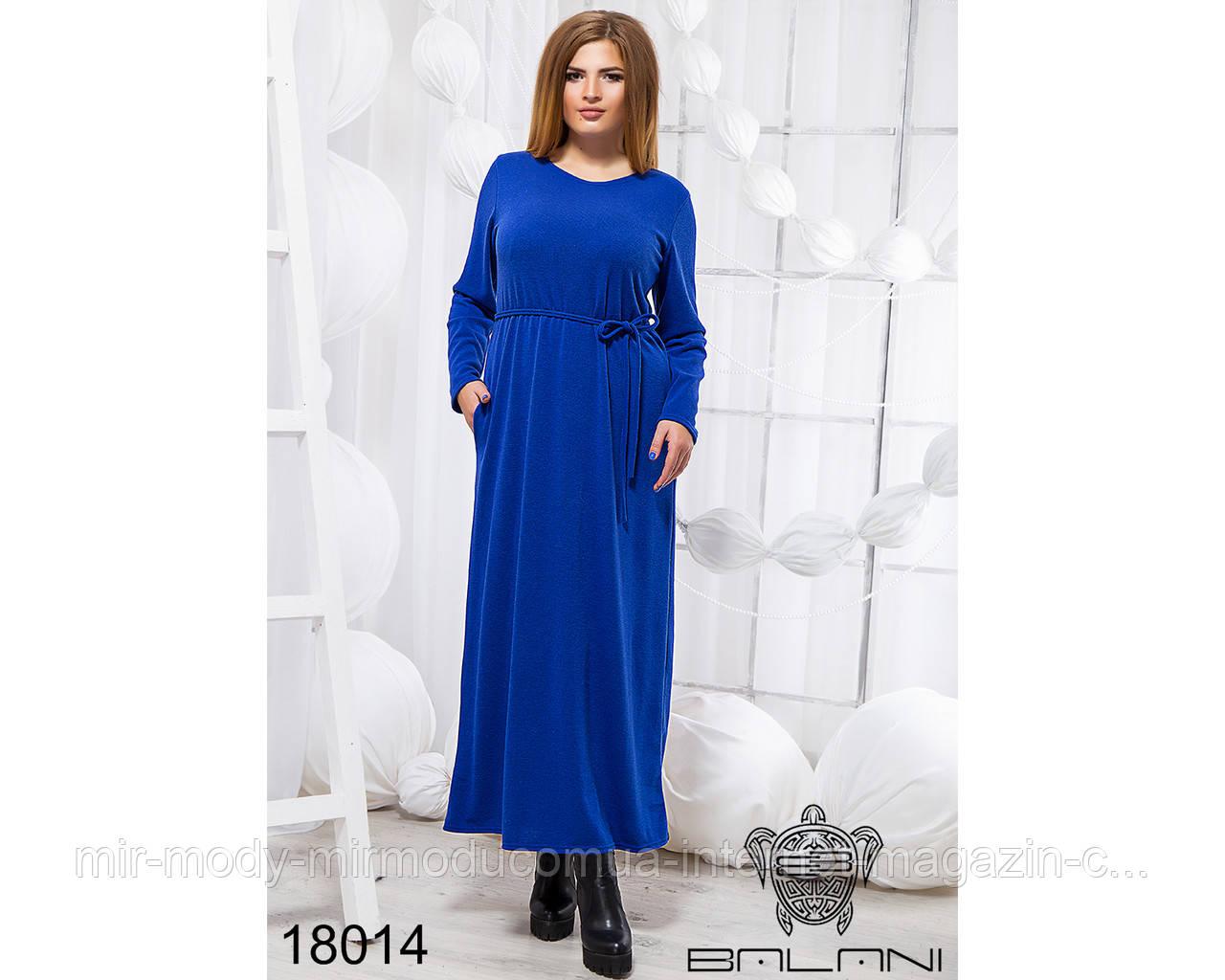 Стильное платье в пол - 18014