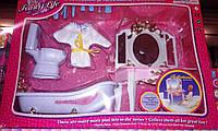 Набор кукольной мебели Gloria Глория 2316 Ванная комната Леди,