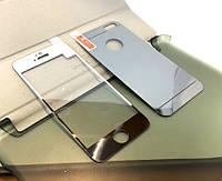 Защитное стекло iPhone 5, 5s, 5c 3D PCS Mirror Silver