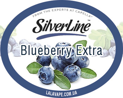 Ароматизатор SilverLine Capella Blueberry Extra (Голубика)
