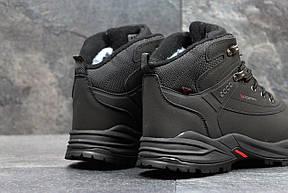Мужские зимние кроссовки Ecco Biom черные , фото 2