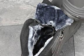 Мужские зимние кроссовки Ecco Biom черные , фото 3